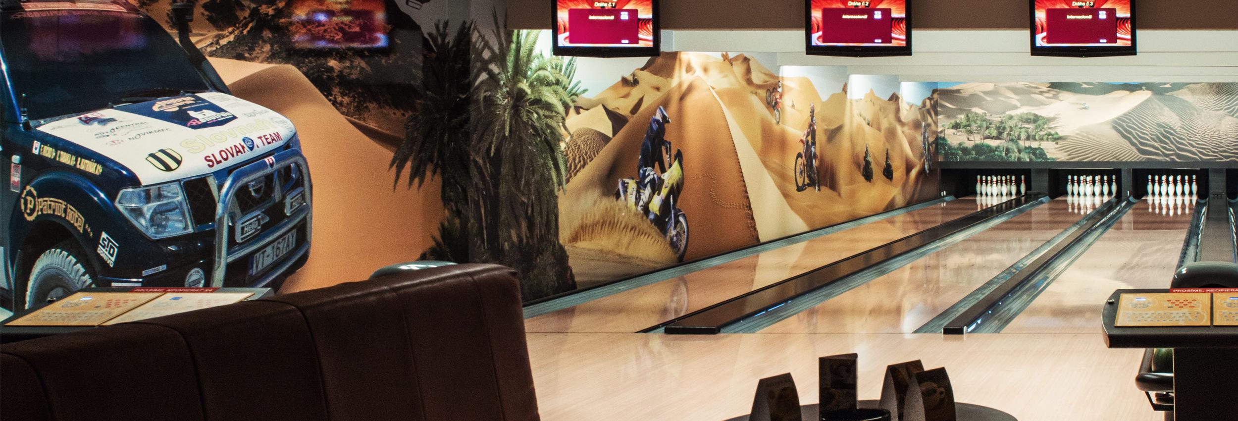 Bowling Vranov nad Topľou, Štvordráhový bowling, Bowling bar Vranov, Hotel Patriot*** Vranov