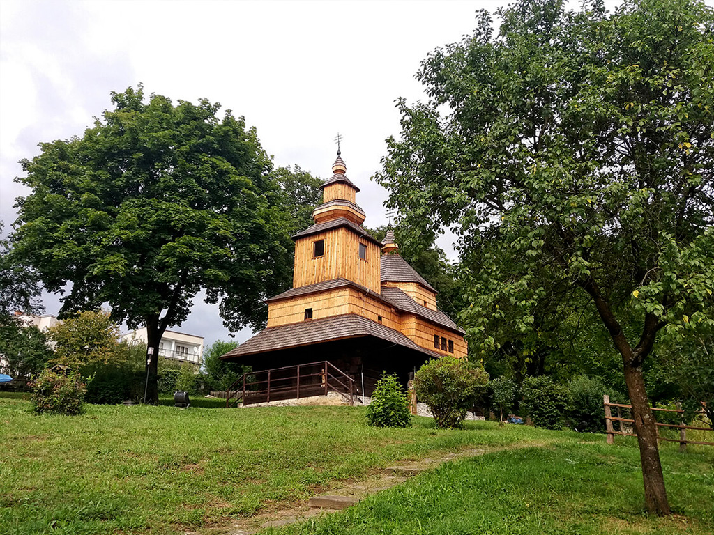 Open air museum (skansen) in Humenne